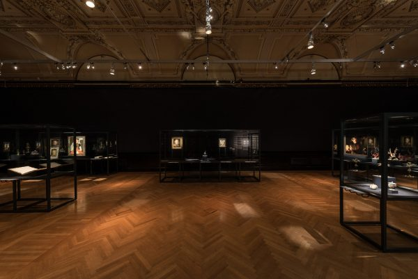 During the Night, installation view