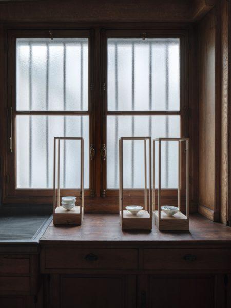 muet, I, II & III, installation view