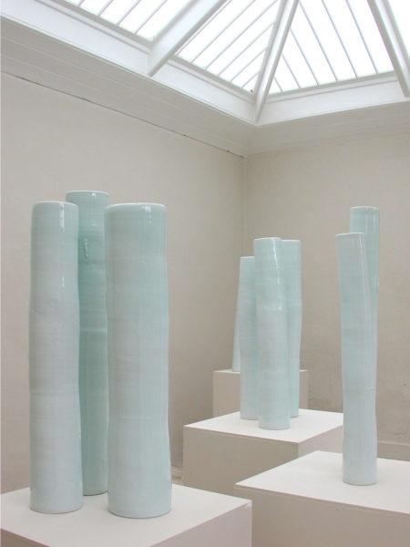 Tall Lidded Jars, 2005