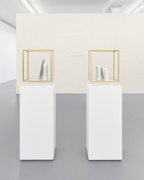 im Waldau, I; im Waldau, II (installation view)