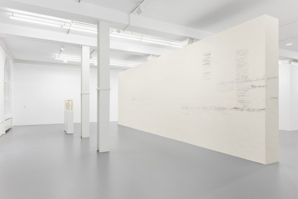 a sort of speech, installation view