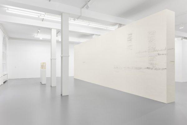 a sort of speech, installation view