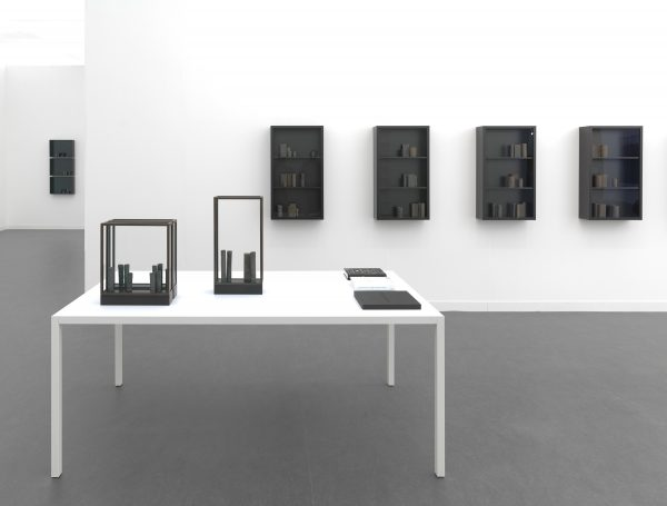 in Czernowitz (for Paul Celan), what's left, II & V, lachrimae I-IV, installation view