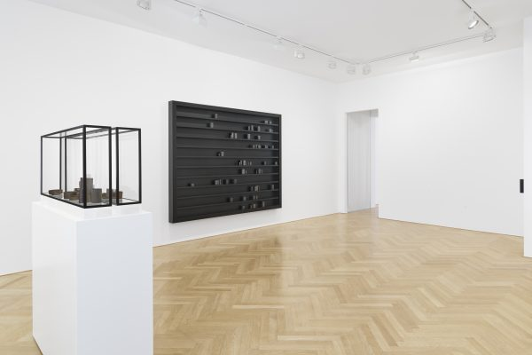 Portbou, the task of the critic, installation view