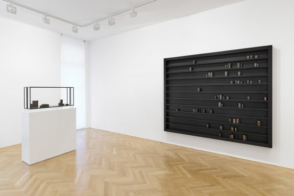 #835, the task of the critic, installation view