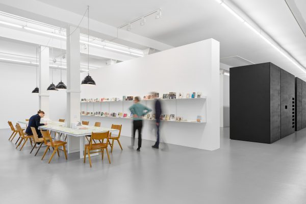 Library Work, installation view