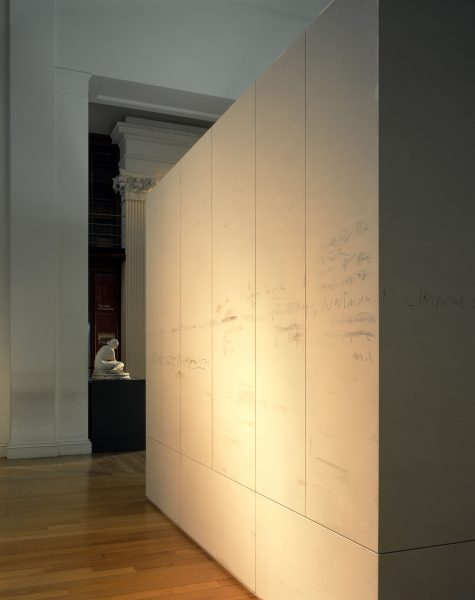 library of exile (installation view)