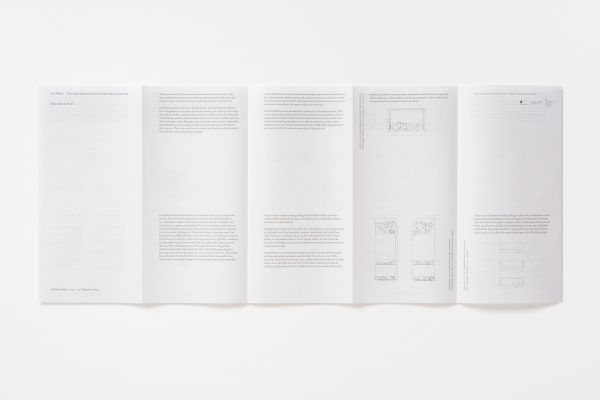 Exhibition pamphlet