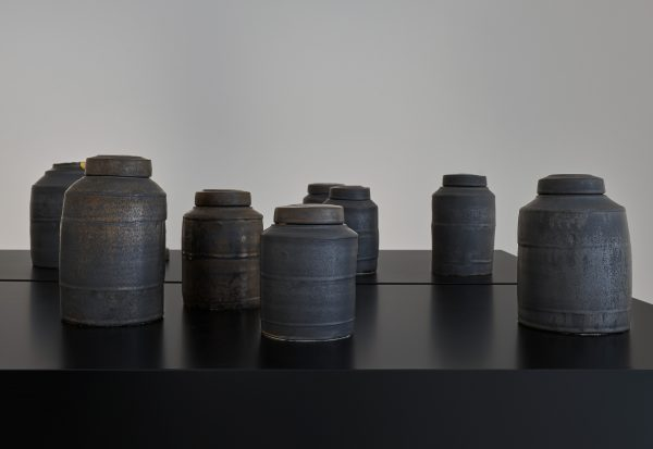 some winter pots (installation view)