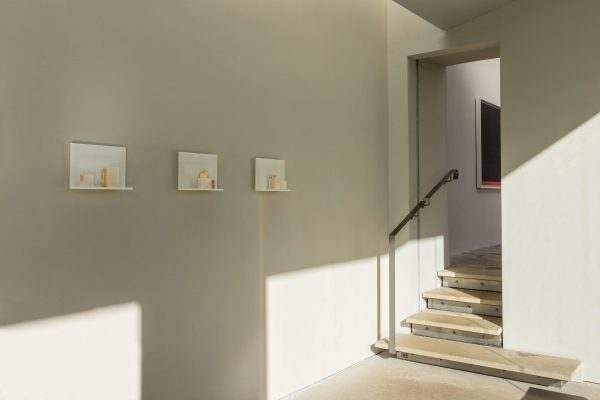 the tutelar of place, I, II and III (installation view)