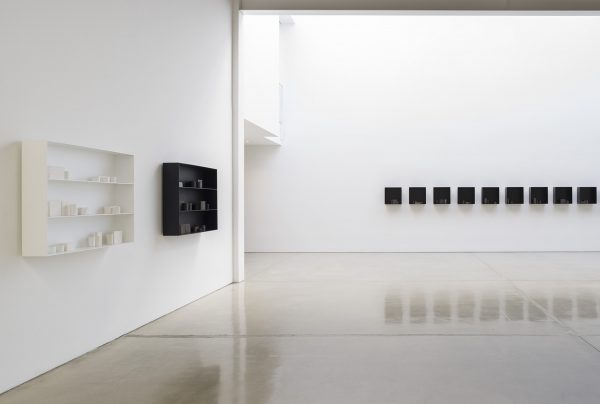 a word, a name, a place; to speak to you; the ten thousand things, for John Cage; installation view