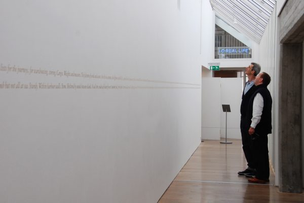 wavespeech, installation view