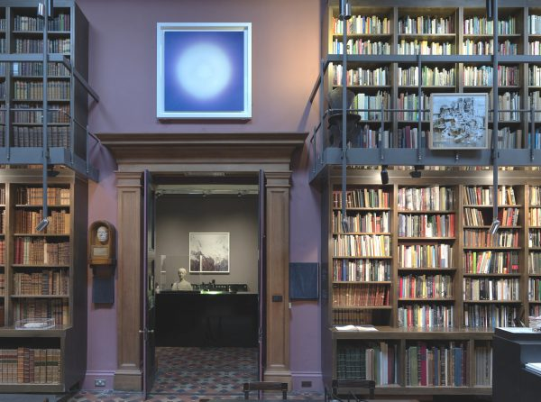 Library, installation view