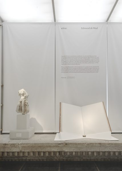 Sackler landing, installation view