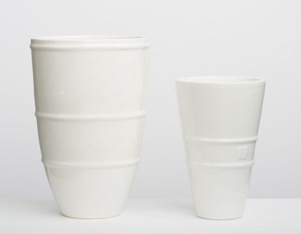 white cast Habitat vessels